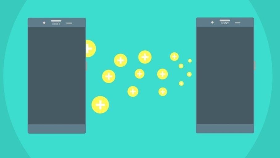 illustration transférer données android